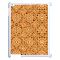 Intricate Modern Baroque Seamless Pattern Apple iPad 2 Case (White)