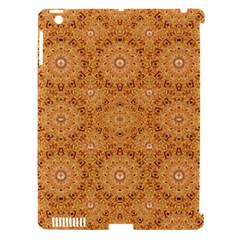 Intricate Modern Baroque Seamless Pattern Apple iPad 3/4 Hardshell Case (Compatible with Smart Cover)