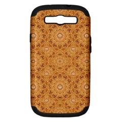 Intricate Modern Baroque Seamless Pattern Samsung Galaxy S III Hardshell Case (PC+Silicone)
