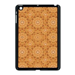 Intricate Modern Baroque Seamless Pattern Apple iPad Mini Case (Black)