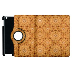 Intricate Modern Baroque Seamless Pattern Apple iPad 2 Flip 360 Case