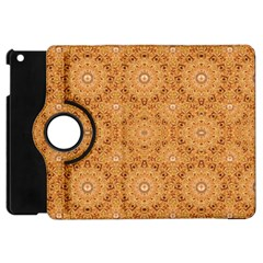 Intricate Modern Baroque Seamless Pattern Apple iPad Mini Flip 360 Case