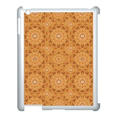 Intricate Modern Baroque Seamless Pattern Apple iPad 3/4 Case (White)
