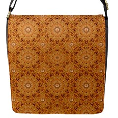 Intricate Modern Baroque Seamless Pattern Flap Messenger Bag (S)