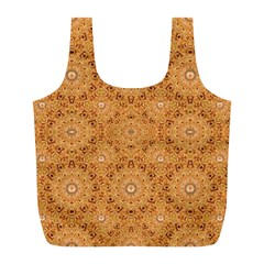 Intricate Modern Baroque Seamless Pattern Full Print Recycle Bags (L)