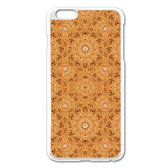 Intricate Modern Baroque Seamless Pattern Apple iPhone 6 Plus/6S Plus Enamel White Case