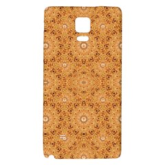 Intricate Modern Baroque Seamless Pattern Galaxy Note 4 Back Case