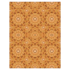 Intricate Modern Baroque Seamless Pattern Drawstring Bag (Large)