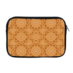 Intricate Modern Baroque Seamless Pattern Apple MacBook Pro 17  Zipper Case