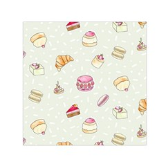 Cute cakes Small Satin Scarf (Square)