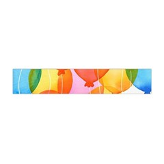 Rainbow balloon Flano Scarf (Mini)