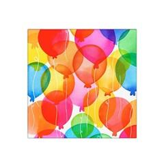 Rainbow balloon Satin Bandana Scarf