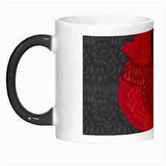 Red fire chicken year Morph Mugs
