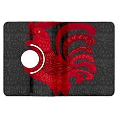 Red fire chicken year Kindle Fire HDX Flip 360 Case
