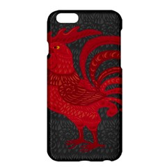 Red fire chicken year Apple iPhone 6 Plus/6S Plus Hardshell Case