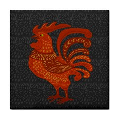Chicken year Tile Coasters