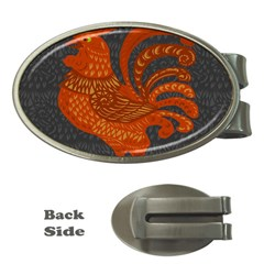 Chicken year Money Clips (Oval)