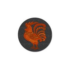 Chicken year Golf Ball Marker