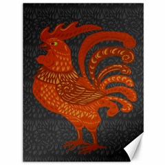 Chicken year Canvas 36  x 48