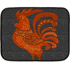 Chicken year Fleece Blanket (Mini)