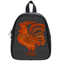 Chicken year School Bags (Small)