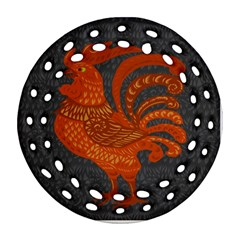 Chicken year Ornament (Round Filigree)
