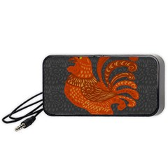 Chicken year Portable Speaker (Black)