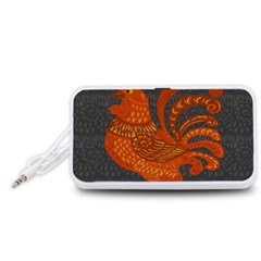 Chicken year Portable Speaker (White)