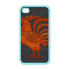 Chicken year Apple iPhone 4 Case (Color)
