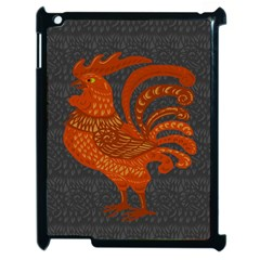 Chicken year Apple iPad 2 Case (Black)