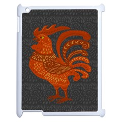 Chicken year Apple iPad 2 Case (White)