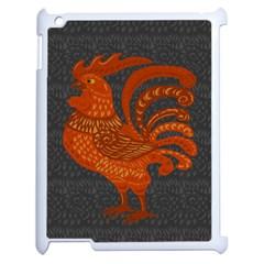 Chicken year Apple iPad 2 Case (White)