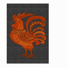 Chicken year Large Garden Flag (Two Sides)