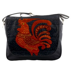 Chicken year Messenger Bags