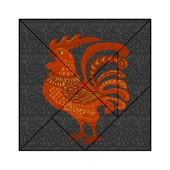 Chicken year Acrylic Tangram Puzzle (6  x 6 )