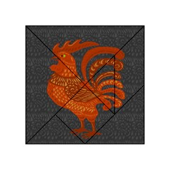 Chicken year Acrylic Tangram Puzzle (4  x 4 )