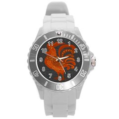Chicken year Round Plastic Sport Watch (L)