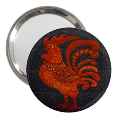 Chicken year 3  Handbag Mirrors