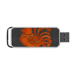 Chicken year Portable USB Flash (One Side)