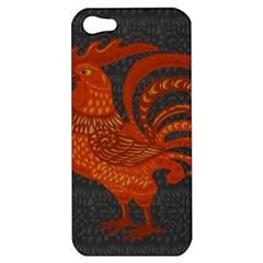 Chicken year Apple iPhone 5 Hardshell Case