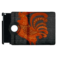Chicken year Apple iPad 2 Flip 360 Case