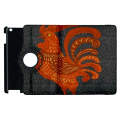 Chicken year Apple iPad 3/4 Flip 360 Case