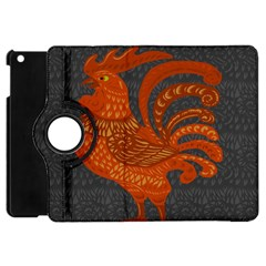 Chicken year Apple iPad Mini Flip 360 Case