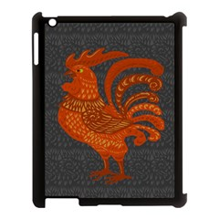 Chicken year Apple iPad 3/4 Case (Black)