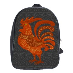 Chicken year School Bags (XL)