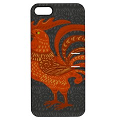 Chicken year Apple iPhone 5 Hardshell Case with Stand
