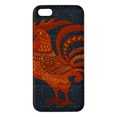 Chicken year Apple iPhone 5 Premium Hardshell Case