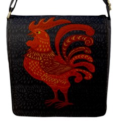 Chicken year Flap Messenger Bag (S)