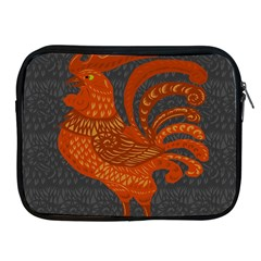 Chicken year Apple iPad 2/3/4 Zipper Cases