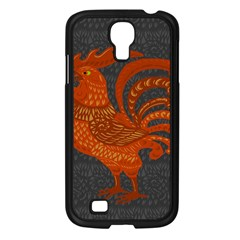 Chicken year Samsung Galaxy S4 I9500/ I9505 Case (Black)